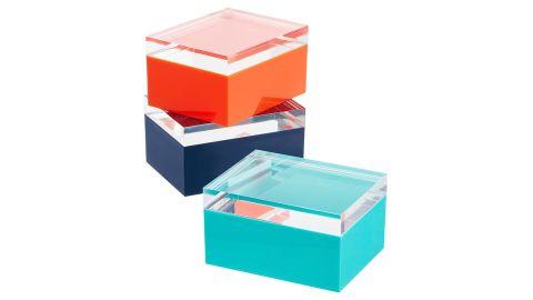 Acrylic Lid Boxes