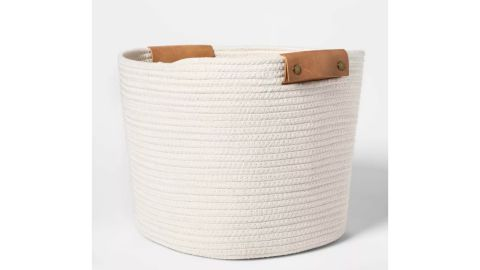Threshold Decorative Coiled Rope Basket