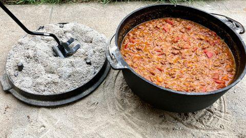 Camp Chef 6-Quart Seasoned Cast Iron Dutch Oven