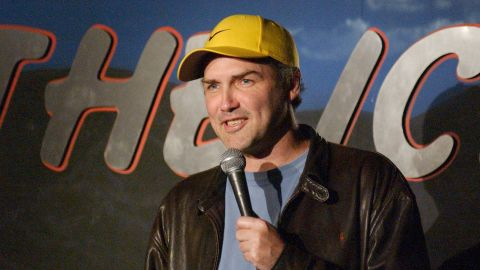 Norm MacDonald during Comedian Norm MacDonald Performs at The Ice House at The Ice House in Pasadena, California, United States. (Photo by Michael Schwartz/WireImage)