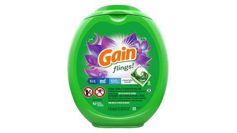 Gain Flings Laundry Detergent Soap Pacs