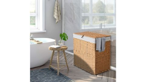 Greenstell Divided Laundry Hamper with Removable Liner Bags