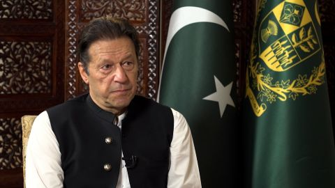 CNN's Becky Anderson sits down with Pakistan's Prime Minister Imran Khan for a wide ranging interview. Rejecting accusations of tacit support for the Taliban, Khan spoke about opening up the airways to Kabul and an aid route -- as well as relations with the US and the growing influence with China.