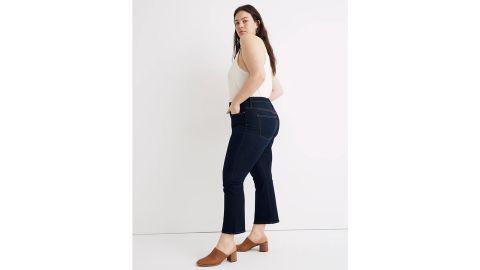 Curvy Cali Demi-Boot Jeans in Larkspur Wash: TENCEL Denim Edition