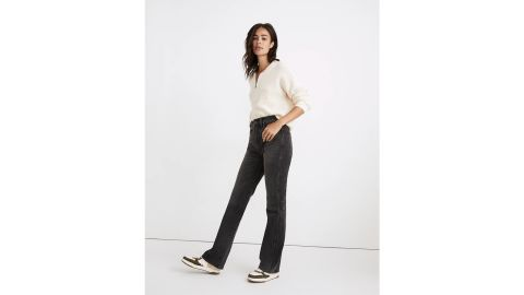 Curvy High-Rise Bootcut Jeans in Lindale Wash