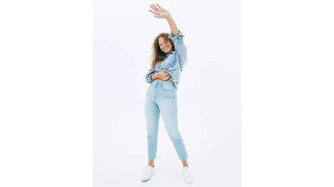 The Curvy Perfect Vintage Jean in Fitzgerald Wash