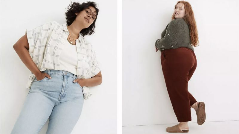 Madewell launched a new curvy collection that eliminates the dreaded waist gap   CNN Underscored