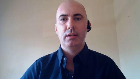 Matthew Braynard appears on CNN via a video call.