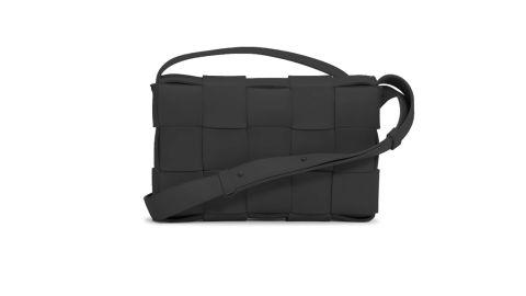 Bottega Intrecciato Leather Crossbody Bag