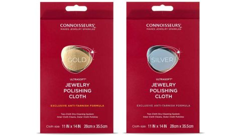 Connoisseurs Jewelry Polishing Cloth Dry-Cleaning System