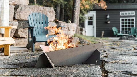 HBeeFire Large Hot Rolled Steel Fire Pit
