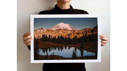 LemoneeOnTheHills Rainier National Park Art Print
