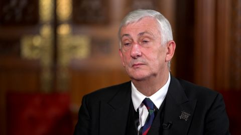 CNN's Bianca Nobilo sits down for an exclusive interview with British Parliament Speaker Sir Lindsay Hoyle, the highest authority of the House of Commons, ahead of his hosting US House Speaker Nancy Pelosi and other counterparts at the G7 Speakers summit this weekend.