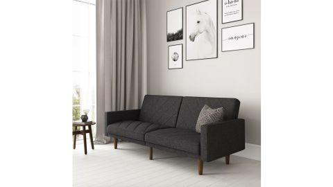 "Adria Twin 71"" Wide Split Back Convertible Sofa"