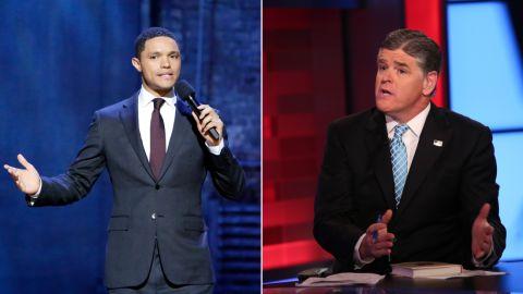 Sean Hannity Trevor Noah