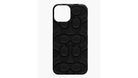 Coach Leather Slim Wrap Case for iPhone 13 Mini