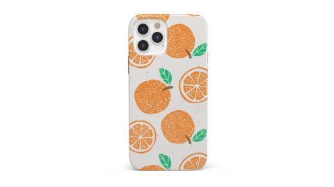 Orange Stamped Case