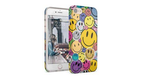 Smiley Face Sticker Case