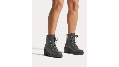 Duo Angela Leather Ankle Boots