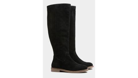 Long Tall Sally Suede Knee-High Boots