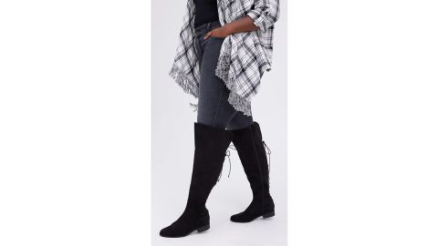 Torrid Lace-Up Over-the-Knee Boot