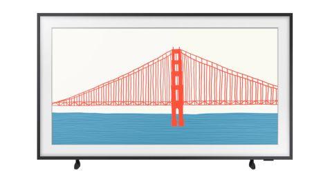 The Frame 75-Inch QLED 4K Smart TV