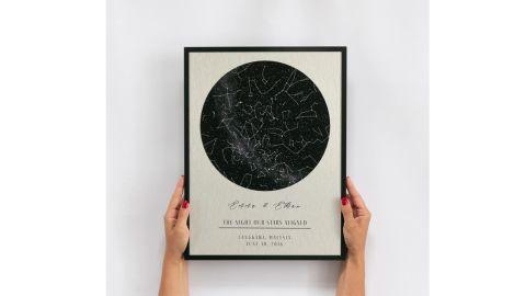 DifferentMaps Tin Star Map