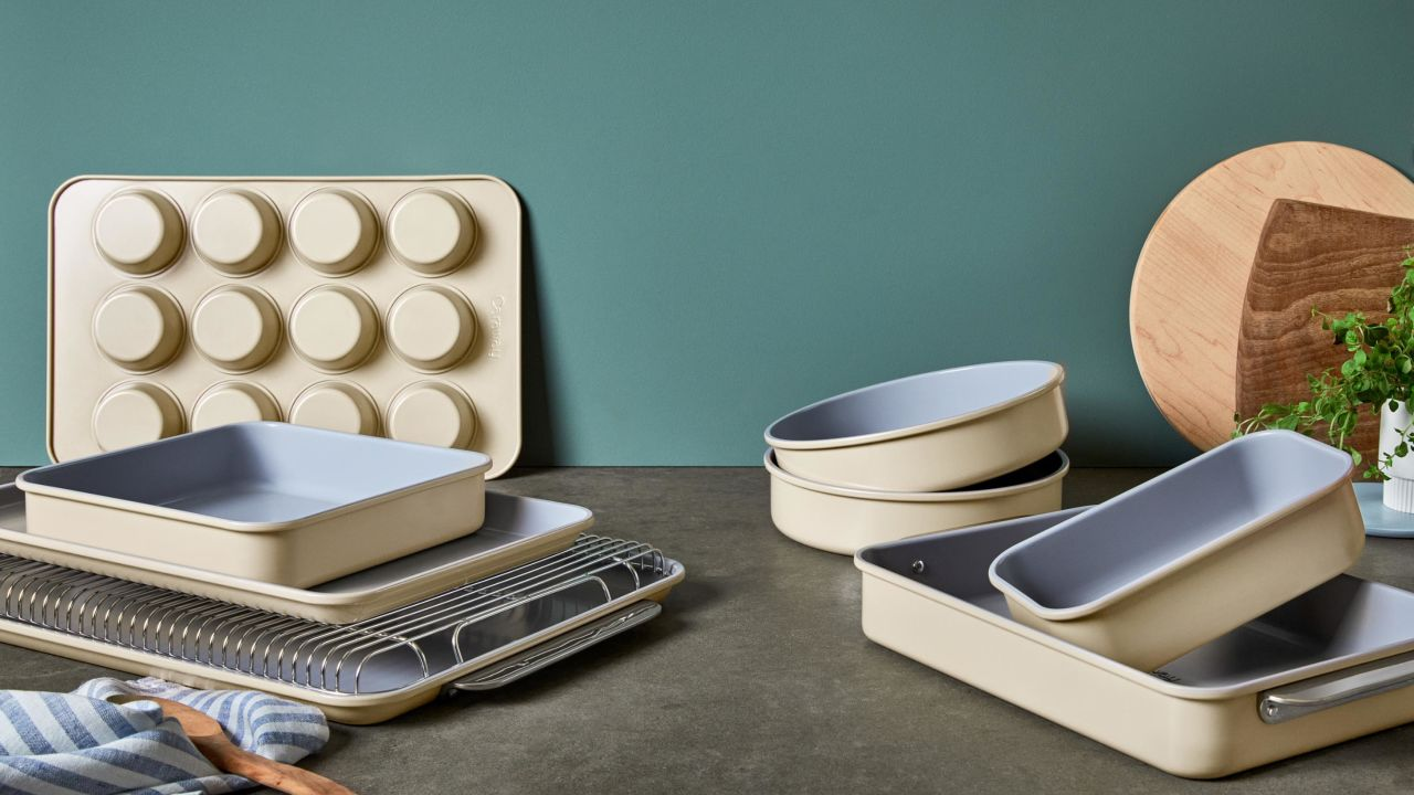 Caraway just launched an expansive line of bakeware
