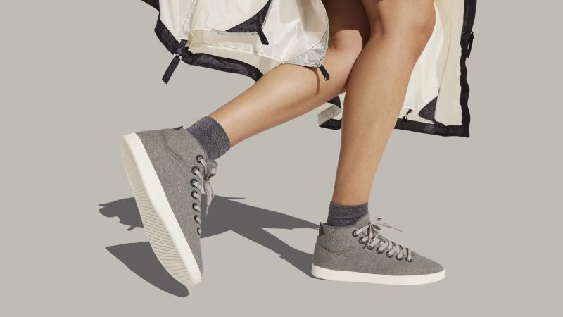 Allbirds new high-top Wool Piper Mids are the warm, stylish sneakers you need for fall | CNN Underscored
