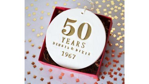 Susabellas 50th Anniversary Ornament