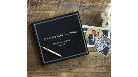 Uncommon Goods The Personalized Anniversary Journal.