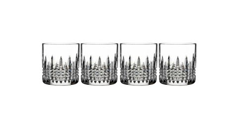 Waterford Lismore Connoisseur Diamond Set of 4 Lead Crystal Tumblers