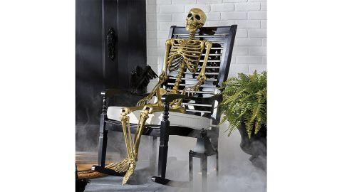 Grandin Road Gold 5-Foot Skeleton