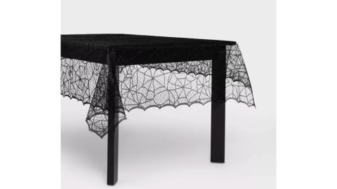 Hyde & EEK! Boutique 60-Inch-by-84-Inch Lace Halloween Tablecloth