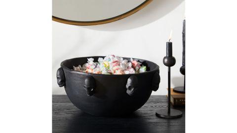 West Elm Skull Candy Bowl