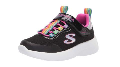 Skechers Girls Sport Machine Washable Sneaker.