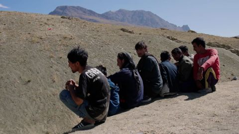 Afghan refugees fleeing their homeland are making the treacherous journey to Turkey after the Taliban took control of Afghanistan. CNN's Arwa Damon speaks to several Afghans who have attempted-- but failed --  to cross into Turkey.
