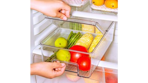 Food storage dab with handle and id