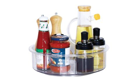 Lazy Susan is a turnable organizer