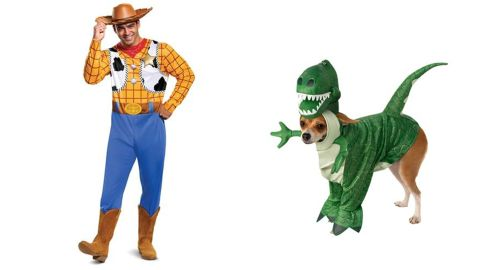 Toy Story Woody and Rex Costumes