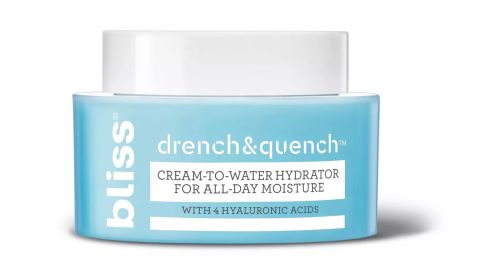 Bliss Drench & Quench Cream-to-Water Hydrator for All-Day Moisture