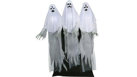 Animated Haunting Ghost Trio Halloween Decoration