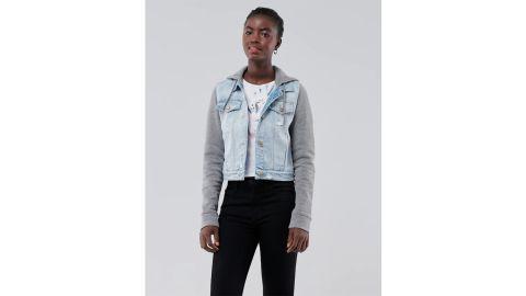 Hollister Crop Hooded Jacket