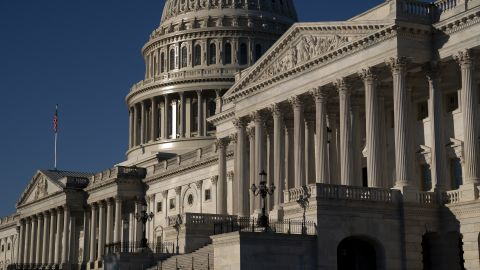 WASHINGTON, DC - SEPTEMBER 25: The U.S. Capitol on September 25, 2021 in Washington, DC. The House Budget Committee is expected to advance Democrats $3.5 trillion social spending plan during a rare Satur