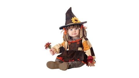 Baby Pumpkin Patch Scarecrow