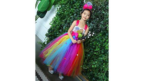 Tutu Dreams Rainbow Candy Dress