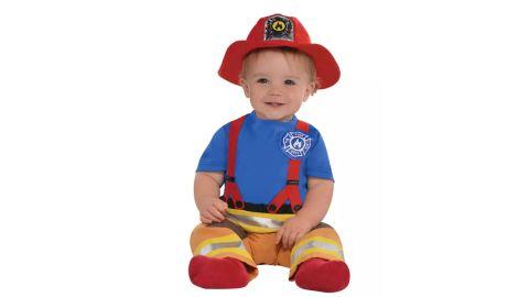 Amscan Baby's First Fireman Halloween Costume