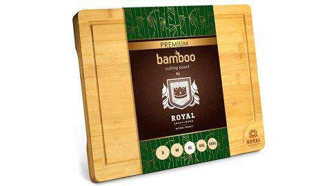 Royal Craft Wood Extra-Large Organic Bamboo Cutting Board