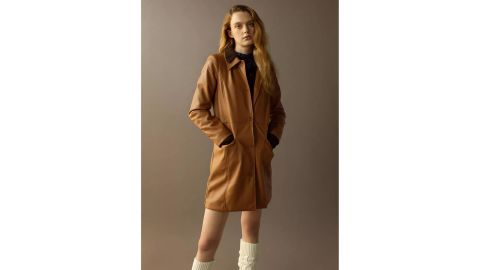 UO Tessa Faux Leather Jacket
