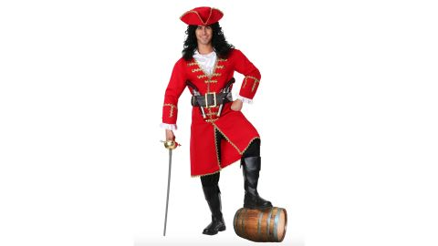 Captain Blackheart Pirate Costume